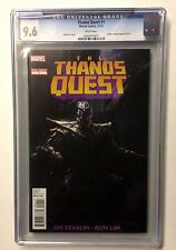 THANOS QUEST ONE-SHOT CGC 9.6 (2012) COLLECTS THANOS QUEST 1 & 2