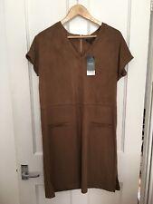 BNWT Size 10 Tan Suedette Dress Next