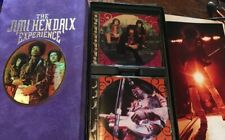 THE JIMI HENDRIX Experience Box, Book & CD Cases But No CDs-Store Yours In These