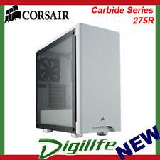 Corsair Carbide Series 275R Tempered Glass ATX Mid-Tower Case - White