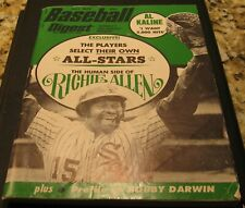 Baseball Digest Magazine July 1972 Richie Allen White Sox Cover.