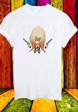Yosemite Sam With Guns Cartoon Character Angry Men Women Unisex T-shirt 706