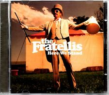 THE FRATELLIS - HERE WE STAND - CD ALBUM