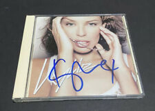 Kylie Minogue Signed Fever Cd Original Autograph