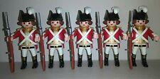 Playmobil Soldats x 5
