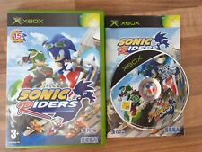 New listing Sonic Riders Microsoft XBOX Original Game + Manual