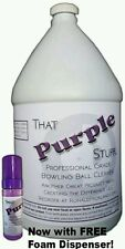 That Purple Stuff Bowling Ball Cleaner with Foam Dispenser  1 Gallon Size