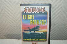 JEU VIDEO CASSETTE MSX ANIROG FIGHT PATH 737 VINTAGE 1984  RETRO GAMING K7