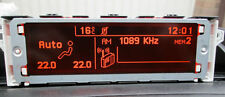 AFFICHEUR SCREEN ECRAN MULTIFONCTION PEUGEOT 307, 407, Citroën C3 C4
