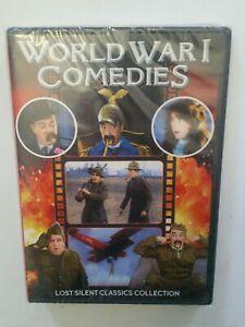 WORLD WAR I COMEDIES - DVD BRAND NEW SEALED - Lost Silent CLASSICS Movies