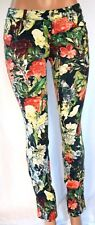 ALICE + OLIVIA MULTI-COLOR FLORAL COTTON/SPANDEX  5 PACKETS PANTS SIZE 4 1803KO