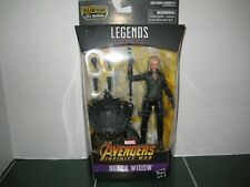 Marvel Legends Black Widow Figure Cull Obsidian Build A Figure Series SEALED