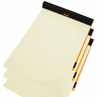 Set of 3 x Rhodia A4 Drawing Sketching Pads 70 Sheet Ivory 90gsm Art Books Paper