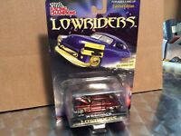 1950 Oldsmobile 50 custom  LOWRIDERS 1/64 low rider maroon slammed