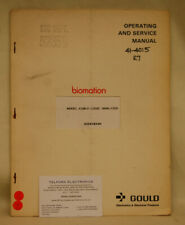 Gould K100-D Logic Analyzer Operating & Service Manual ADDENDUM