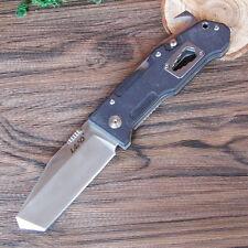 Sanrenmu LAND 9046LCC-GH-T3 Utility Tool Folding Knife G10 Handle Bottle Opener