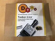 NEW Seymour Duncan DTAR D-TAR Timber-line 1/8 Under-Saddle-Pickup With Preamp