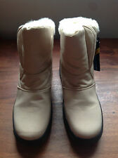 EMME KARIN FLEECE LINED ANKLE SNOW BOOTS   £29.99  BNIB