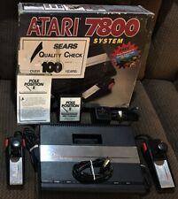 Atari 7800 Video Game Console
