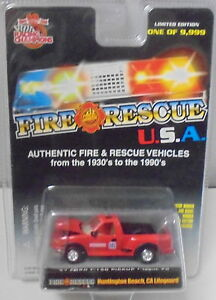 KKar Racing Champions - 1999 Fire USA #08 - '97 F-150 PU - Huntington Beach, CA