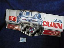 FIAT 850 SUPER  MASCHERINA FRONTALE CALANDRA ACCES.  D'EPOCA FRONT GRILL N.O.S.