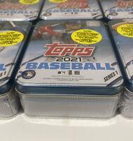 2021 Topps Baseball Series 1 TIN Javier Baez New! Sealed! Excludive 70 Yr Chrome