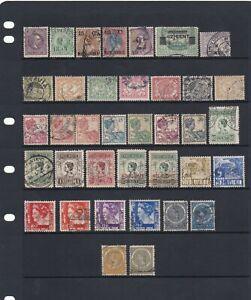Nederland Indie Stamp Mix Earlies & Overprints As Per Scans (2 Scans)
