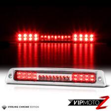 1994-2001 Dodge Ram 1500 2500 3500 Chrome Red LED Rear Third Brake Tail Lights
