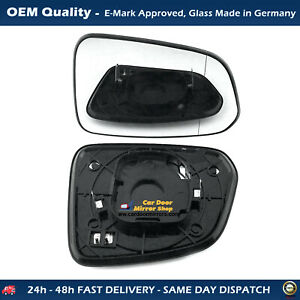 Heated Wing Mirror Glass with base For Chevrolet Captiva FITS  2006 to 2010 RHS