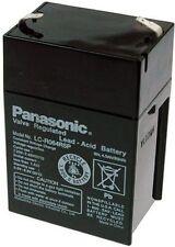 Panasonic Bleiakku LC-R064R5P 6V 4,5Ah Faston 4,8 AGM Akku Blei-Gel / Bleigelakk