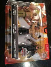 WWE TRIPLE THREAT MATCH KMART EXCLUSIVE JOHN CENA, BROCK LESNER, THE UNDERTAKER