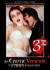 An Erotic Vampire in Paris Collection (DVD, 2006) 3 Films incl. Erotic Werewolf