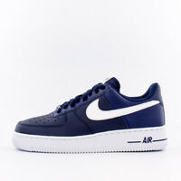 Brand New Nike Air Force 1 Leather Basketball Sneakers | Midnight Blue & White