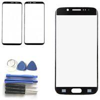 Pantalla Táctil Front Funda Lente De Cristal para Samsung Galaxy S8 S8Plus Negro