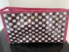 Kate Spade Cosmetic Bag Make Up Travel Case Lipstick Multi Colored