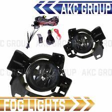 Cobra Tek For 2010-2012 Nissan Altima 4 Door Clear Lens Chrome Housing Fog Light