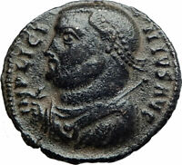 LICINIUS I Constantine I enemy 317AD Authentic Ancient Roman Coin JUPITER i80232