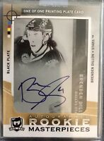 2012-2013 UD THE CUP Brenden Dillon AUTO PRINTING PRINT PLATE ROOKIE RC 1/1