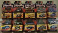 MATCHBOX BEST OF THE WORLD SERIES 1 COMPLETE SET OF 10 CARS  BMW LAMBO ROVER NU