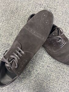 Mens's Salle Privee LACE-UP SHOES IN SUEDE Euro Size 10 D - US size 11-11.5 D