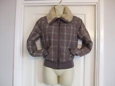 Petite Checked Casual Coats & Jackets for Women