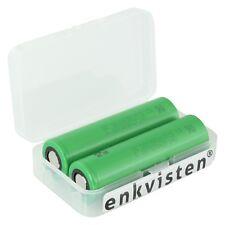 2x Sony Konion US18650VTC5 3,7V 2600mAh + Akku Schutzbox 18650 2er-SET Lithium