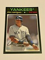 2012 Topps Archives Baseball Base Card #56 - Alex Rodriguez - New York Yankees