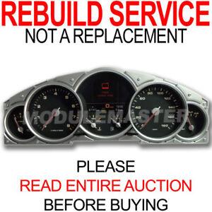 Rebuild Repair for 03 04 05 06 07 08 09 10 Porsche Cayenne Instrument Cluster