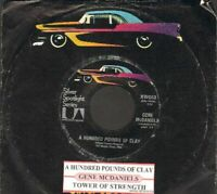 McDaniels, Gene - A Hundred Pounds Of Clay SSS X53 Vinyl 45 rpm Record