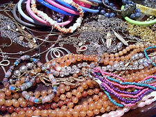 ESTATE JEWELRY LOT 12~Vintage to modern~assorted~retro necklaces & bracelets~