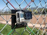 Action Camera Mount System for GoPro- Fences, Nets- NextLevel Sports Training
