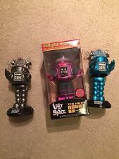 Forbidden Planet ROBBY THE ROBOT Comic Con 2010 Set OF 3 LOST IN SPACE FUNKO