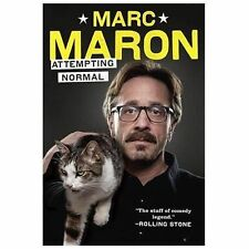 Attempting Normal by Marc Maron (2013, Hardcover) HILARIOUS!