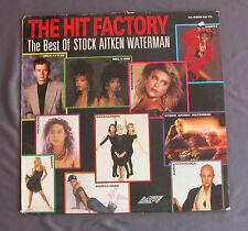 "Vinilo LP 12"" 33 rpm THE HIT FACTORY - THE BEST OF STOCK AITKEN WATERMAN"